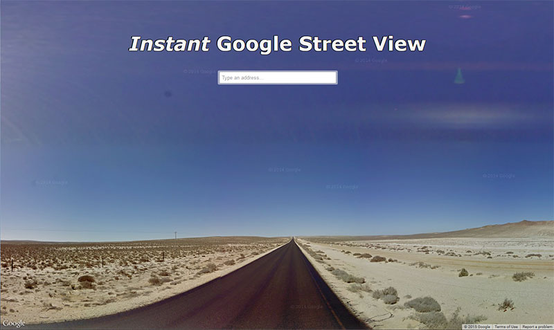Instant Google Street View – View Street Map Google Earth